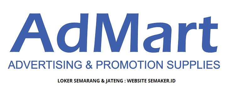Loker Pt Admart Indonesia Semarang Staff Marketing Admin Depo Driver Helper Terbit Agustus 2020
